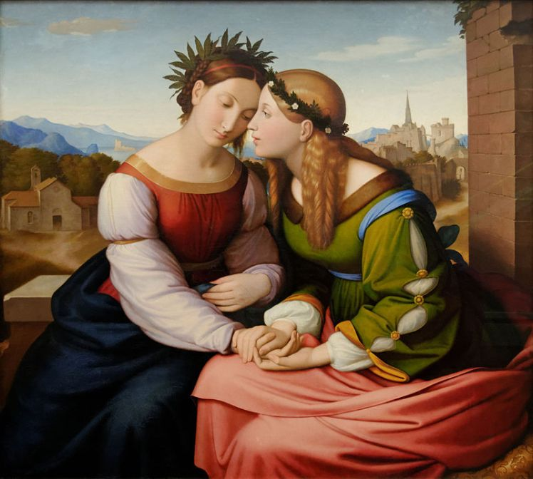 italia_and_germania_friedrich_overbeck_1828