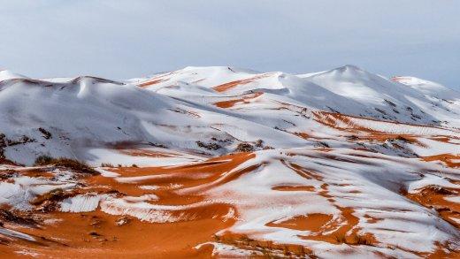 Sahara / Schnee