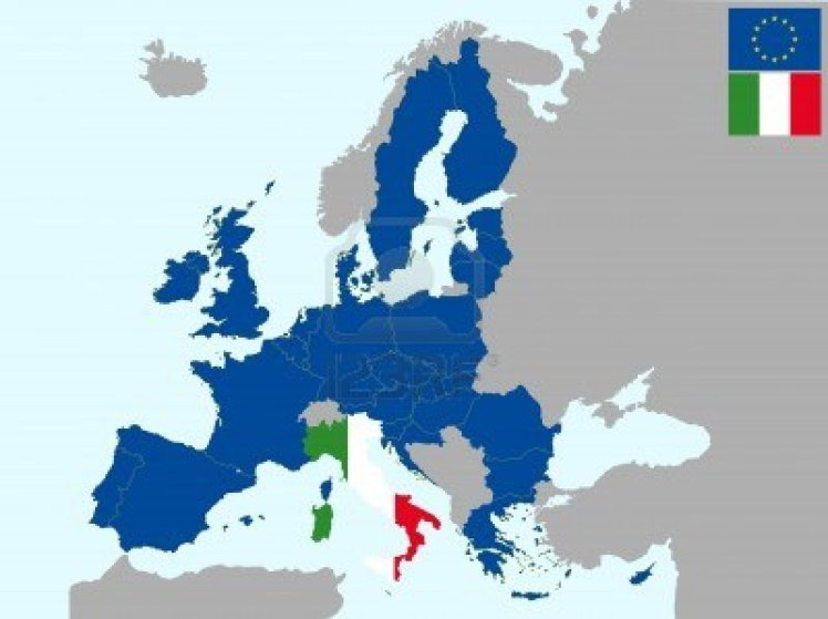 13066674-illustration-of-europe-map-with-flag-of-italy-from-1-july-2013