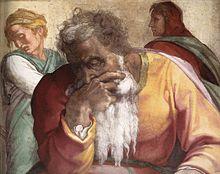 220px-Michelangelo,_profeti,_Jeremiah_02