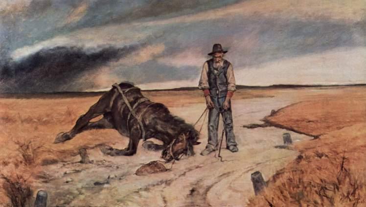 Contadino-con-cavallo-caduto-Giovanni-Fattori-2