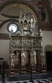 6229_-_Milano_-_Sant'Eustorgio_-_Arca_di_S._Pietro_Martire_-_Foto_Giovanni_Dall'Orto_1-Mar-2007