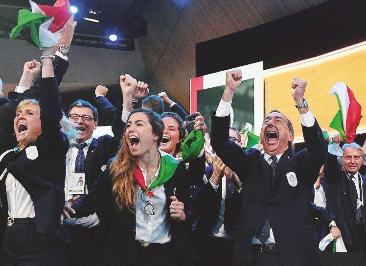 Losanna, l'assegnazione delle Olimpiadi invernali 2026