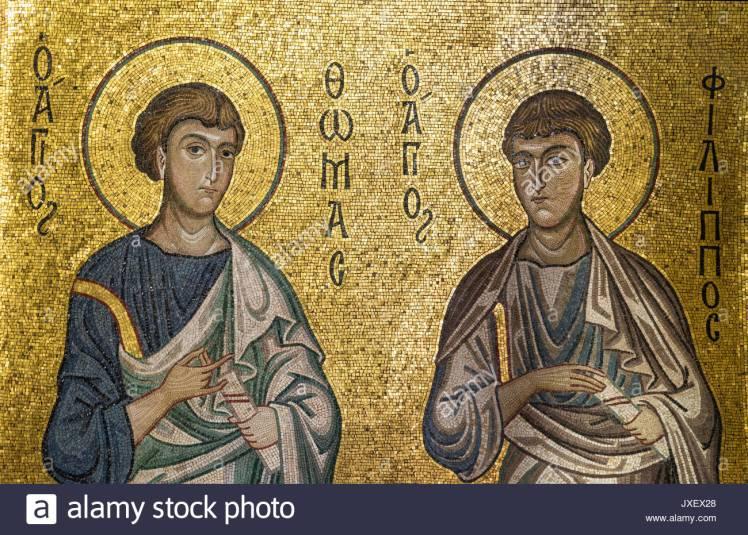 xii-secolo-mosaico-degli-apostoli-san-tommaso-e-san-filippo-in-la-chiesa-della-martorana-in-piazza-bellini-centrale-di-palermo-jxex28